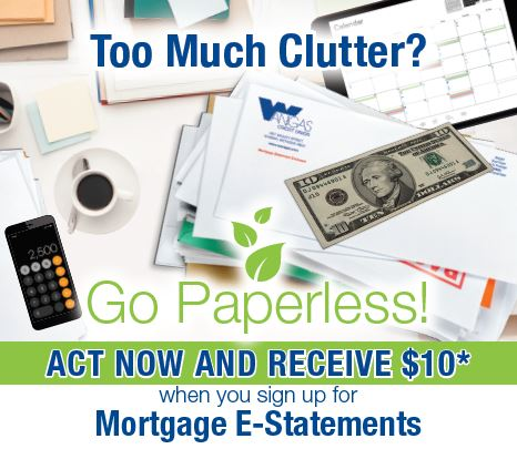 Midwest Mortgage $10 eStatement Offer