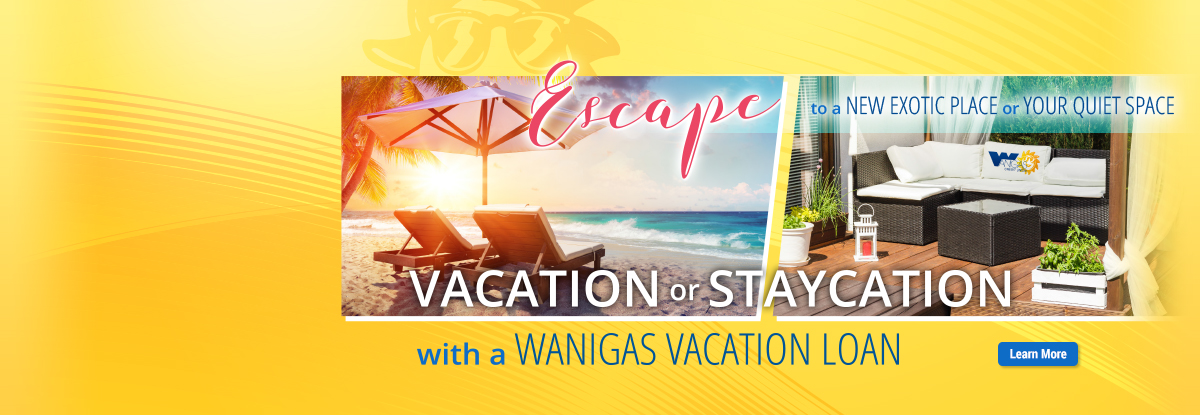 Vacation Staycation Loan