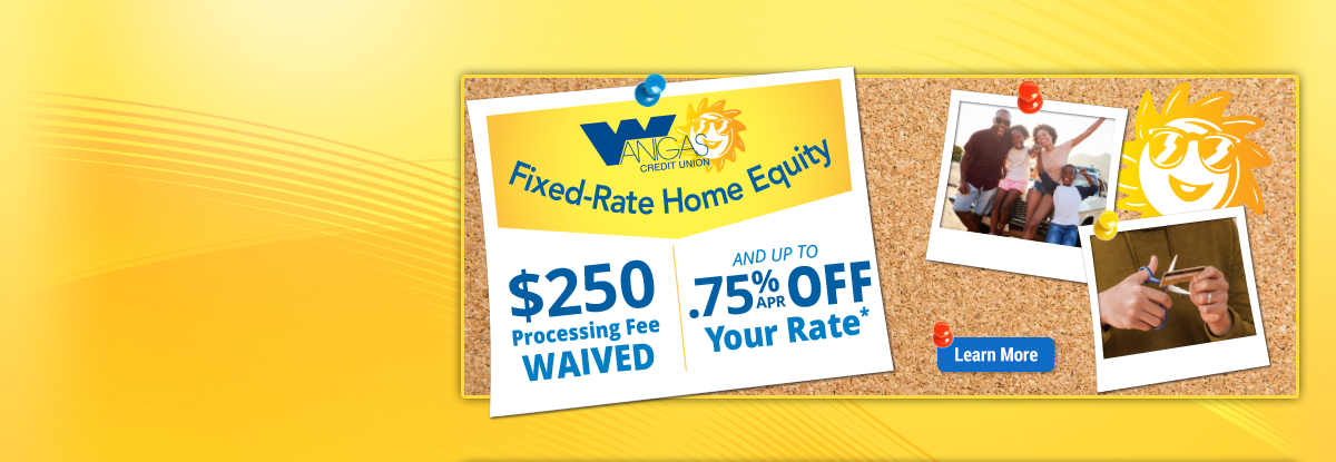 Fixed Rate Home Equity Banner Ad