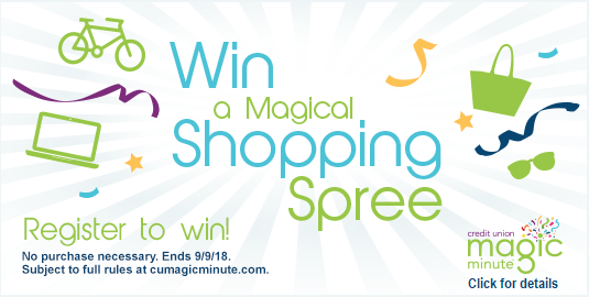 CU Magic Minute - Win a Magical Shopping Spree