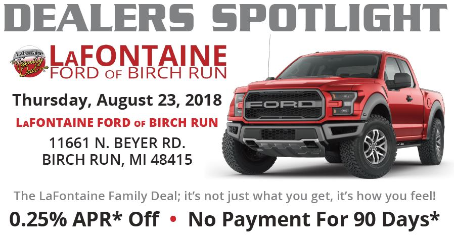 Dealer Spotlight LaFontaine Ford of Birch Run
