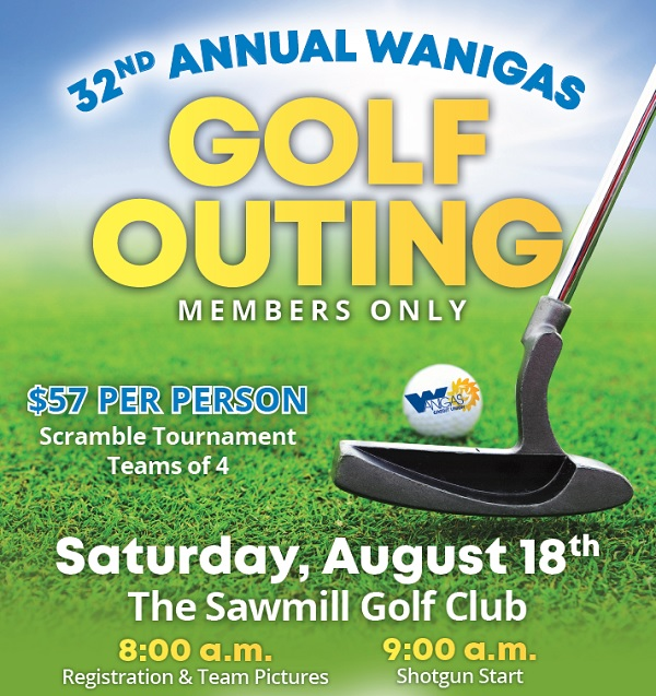 2018 Members Only Golf Outing, Saturday, August 14th