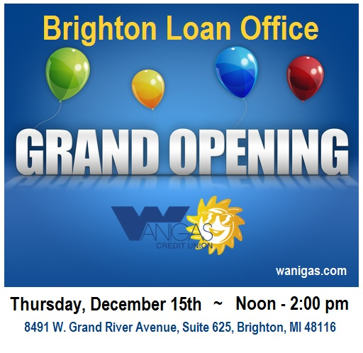 brighton loan office grand opening