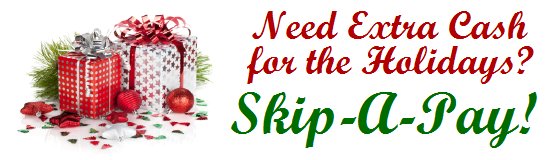 Need extra money for the holidays? Skip a pay