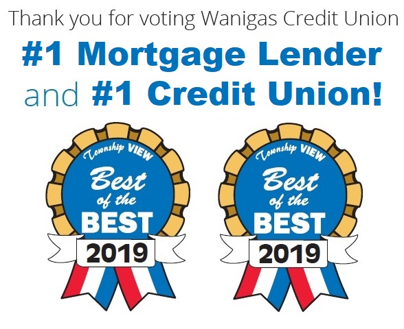 Township View Best of the Best #1 Mortgage Lender & #1 Credit Union