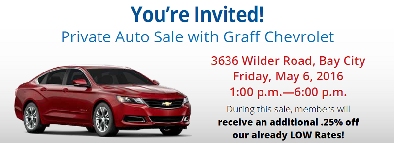 private auto sale with Graff Chevy