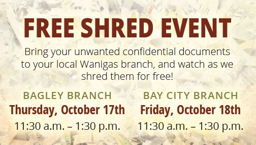 October Shred Events