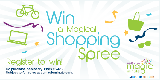Win a magical shopping spree